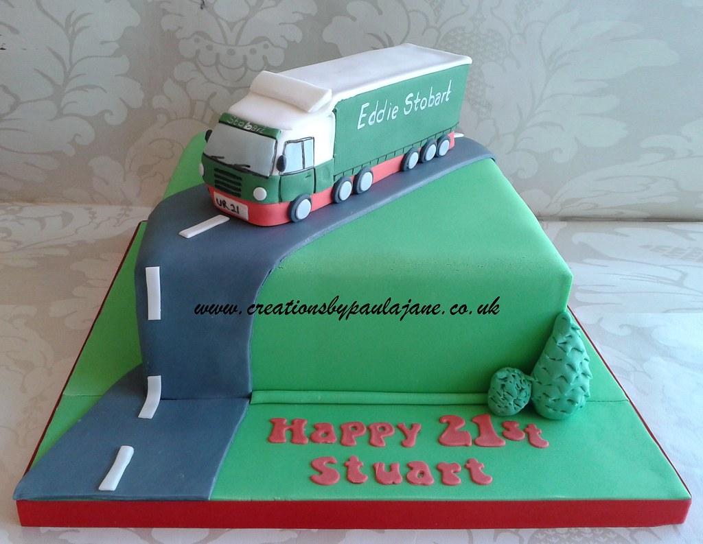 Eddie Stobart Cake Topper