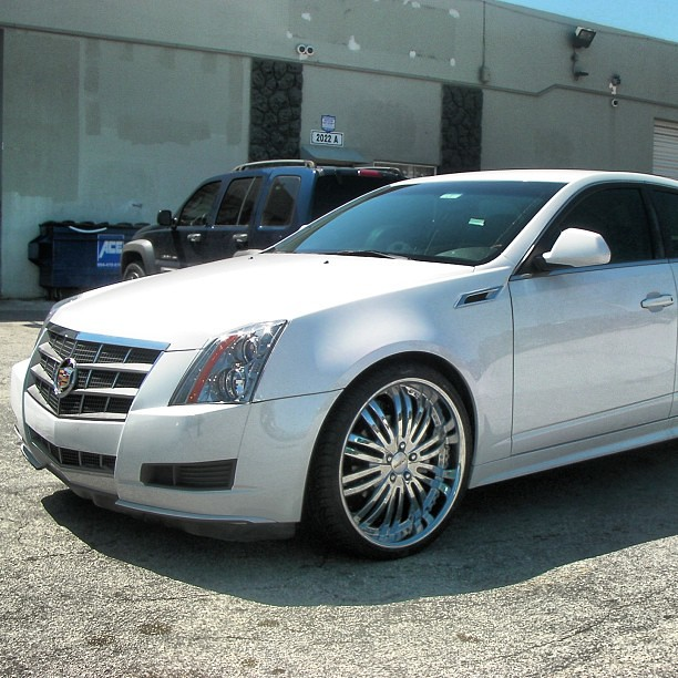 22 Inch Verde Madonna Chrome Wheels, 2011 Cadillac CTS $18