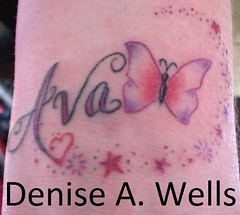 Girly fonts lettering by denise a wells a set on flickr for Girly font tattoo