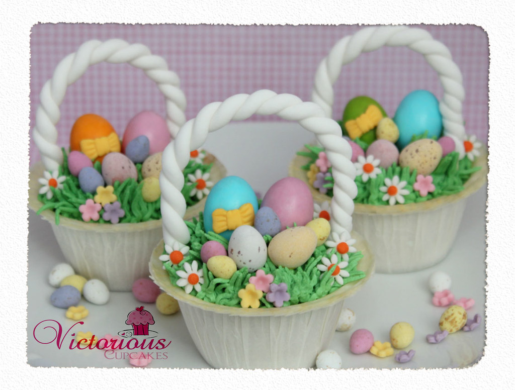 Easter Basket Cupcakes | Here's the recipe: www.goodtoknow ...