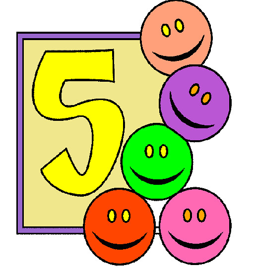Beş Sayısı Boyama Beş Sayısının Boyaması Ile çocuklar Artı Flickr