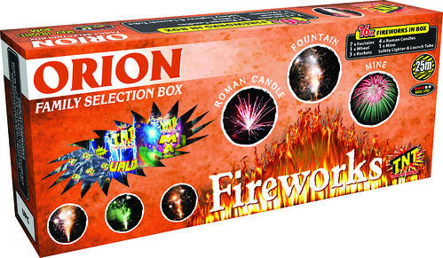 Orion Selection Box by TNT Fireworks