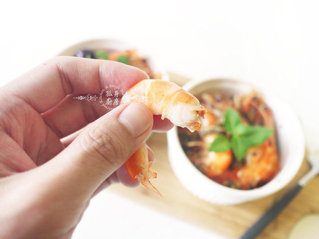 孤身廚房-超乎想像!解凍即食和現煮的一樣好吃—Mess Maker.蝦攪和.冷泡蝦12