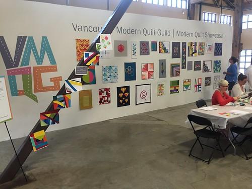 VMQG modern quilt showcase