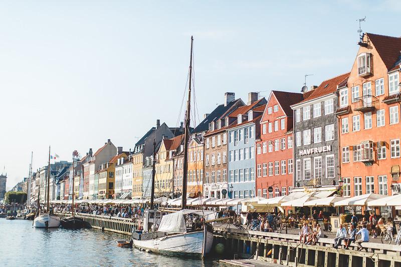 Copenhagen buildings seafront