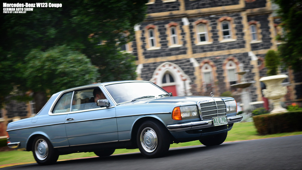Mercedes Benz W123 Coupe German Auto Show Victoria Col Flickr