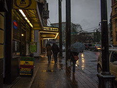trust me the weather wasn't this nice! epl1-raw - A day for umbrellas and gortex :) -  - gastown--20130108-P1083580.jpg