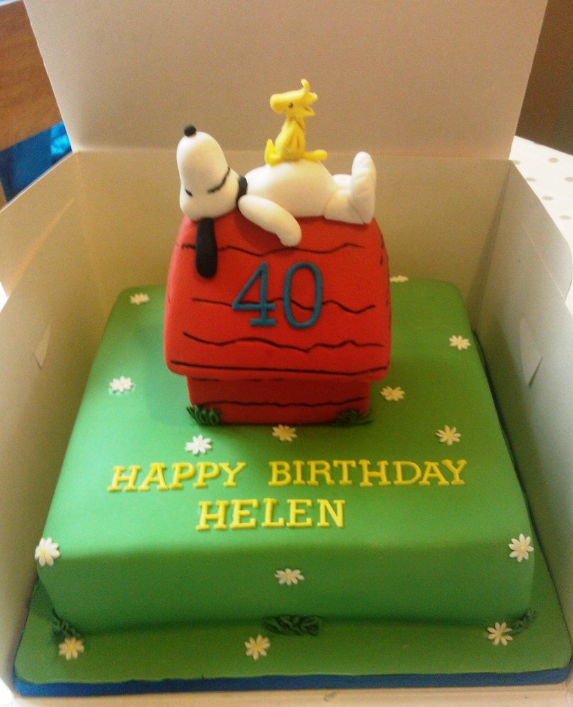 Snoopy cake Little Gems Cakes Flickr