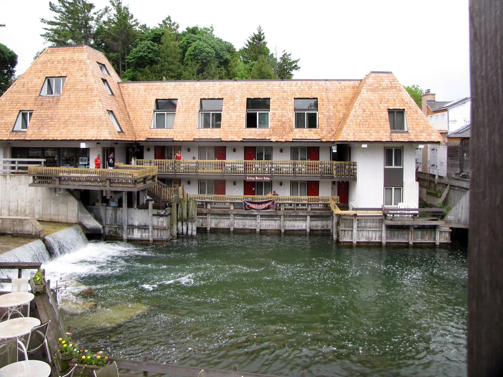Falling Waters Lodge, Leland, Michigan | Located right on ...