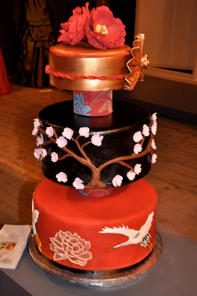 japanese wedding cakes japanese inspired wedding cake this was also for the 16587