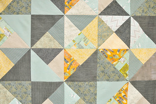 Mod Blocks quilt top | by make_something