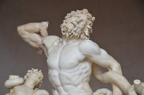 Laocoon and His Sons, 2nd - 1st cents., BCE, detail, Vatic ...