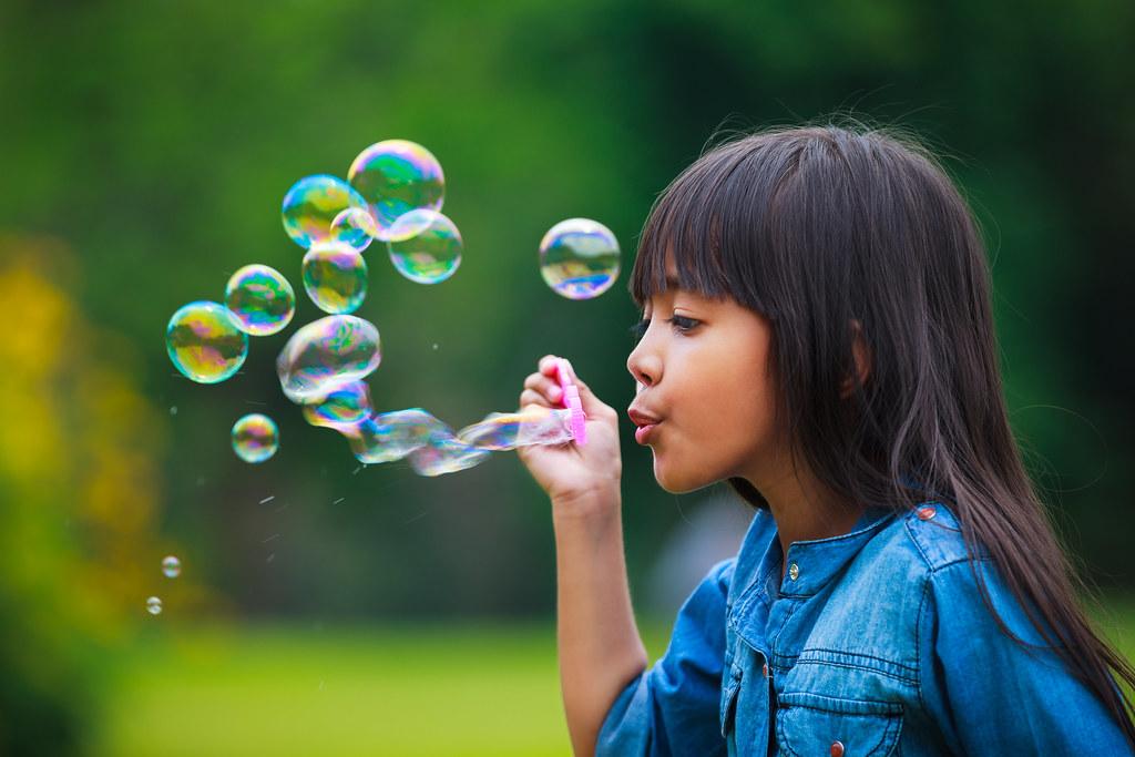 Blowing Soap Bubbles History is Blowing a Soap Bubbles