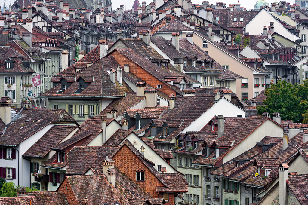 The Old City Of Bern Iii This Time A Closer View Of The