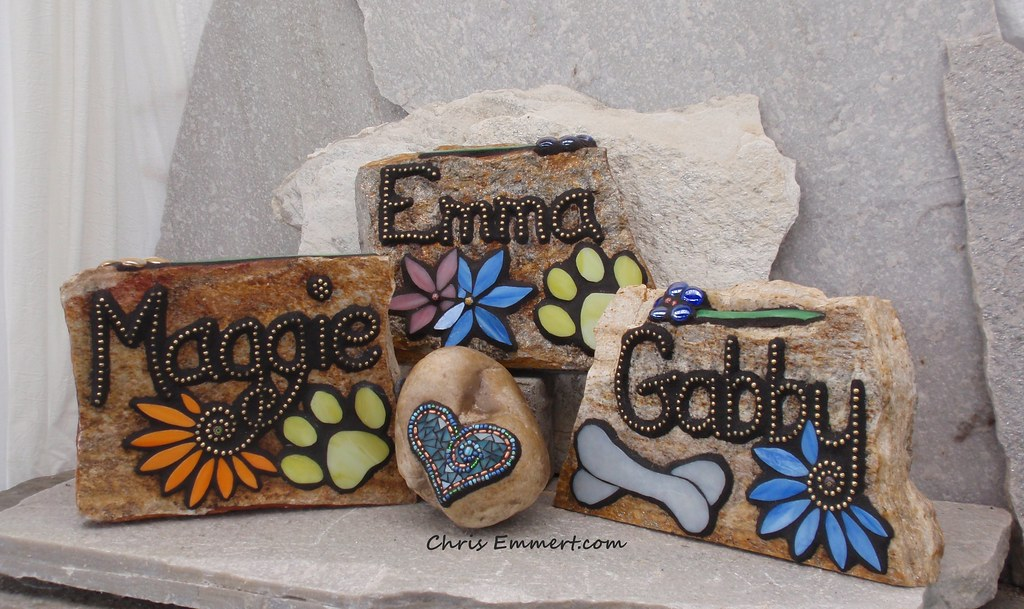 Mosaic Pet Memorials Commissions For Beloved Dogs