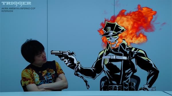130319(2) -「雨宮哲×今石洋之」創意動畫《地獄刑事》第13話<完結篇>在YouTube首播、超次元專訪出爐!