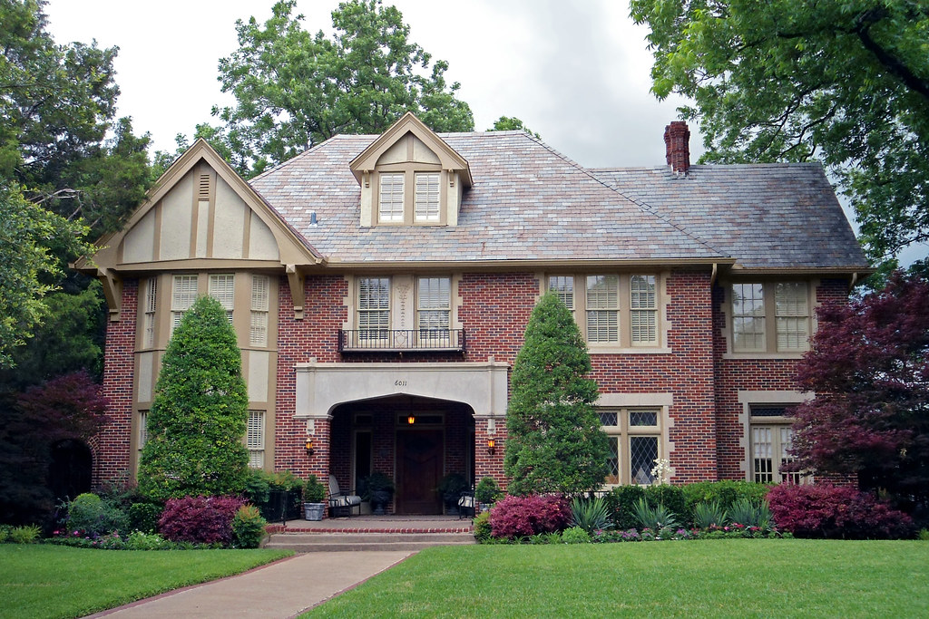 Tudor revival style house swiss avenue dallas one of for House architecture styles