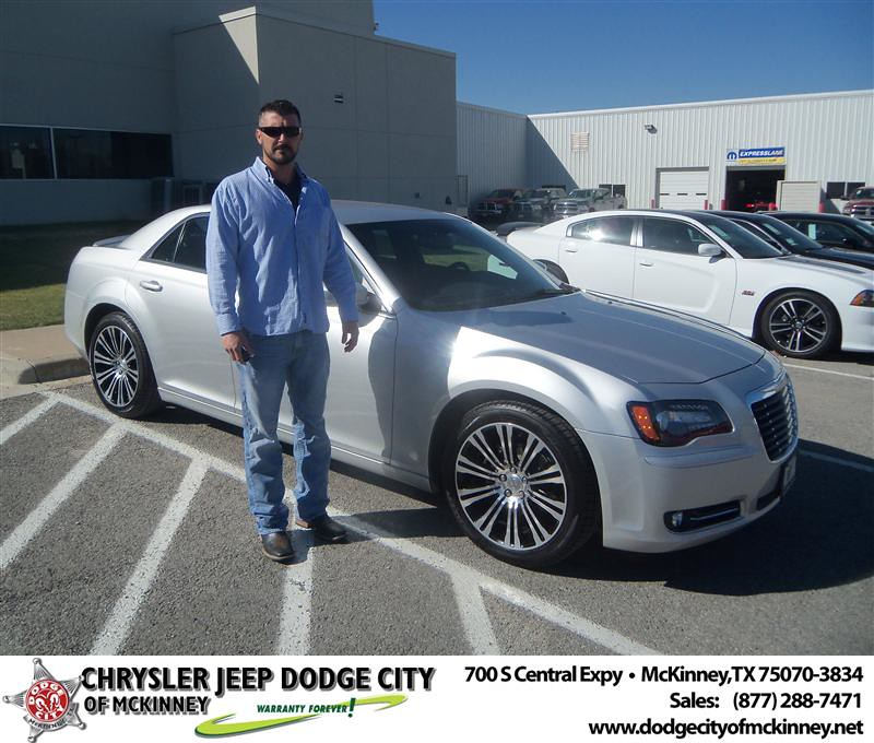 Dodge City Of Mckinney >> Congratulations to Brandon Dunaway on the 2012 Chrysler 30… | Flickr