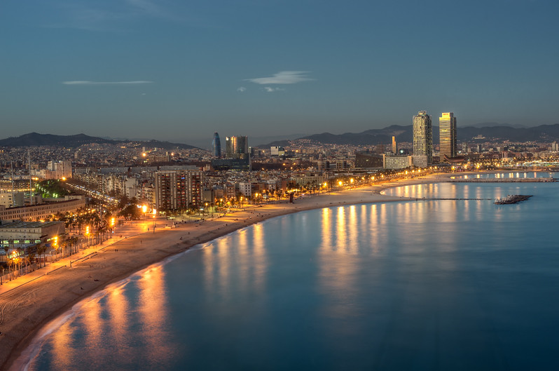 Sea boulevard paseo mar timo de la barceloneta barcelon - Casa de madrid en barcelona ...