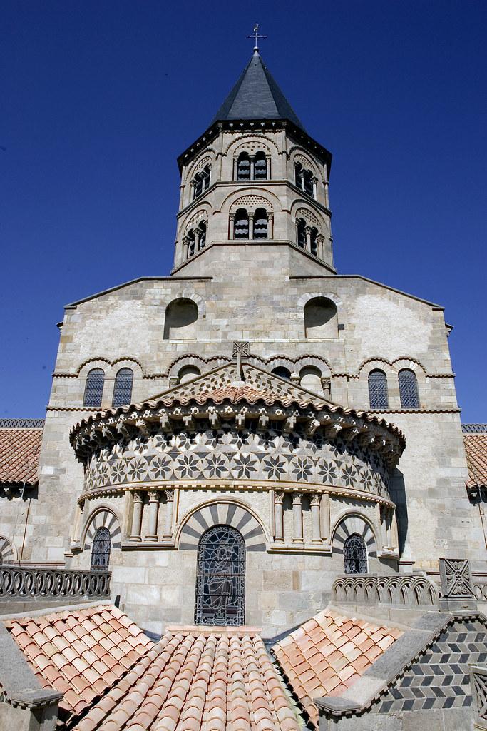 Basilique notre dame du port clermont ferrand auvergne flickr - Rue du port clermont ferrand ...