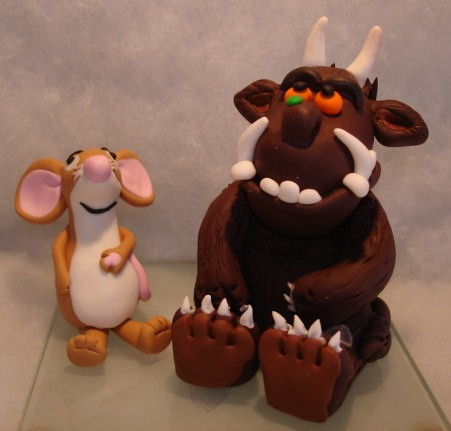 Gruffalo And Mouse Fimo Cake Topper Marie Pamplin Flickr
