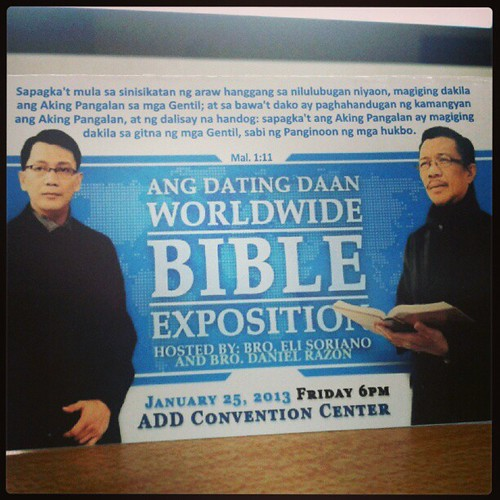 ang dating daan bible exposition 2013 nfl