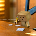 Danbo Enjoys Writing Letters