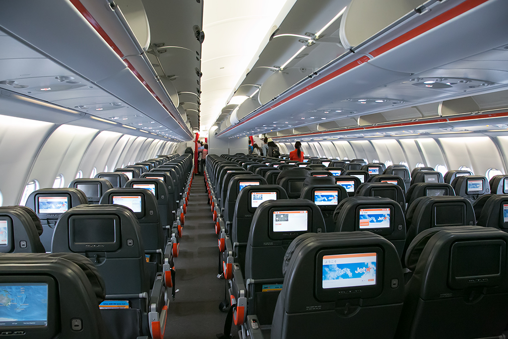 Jetstar Airbus A330 200 Economy Cabin The Newish A330