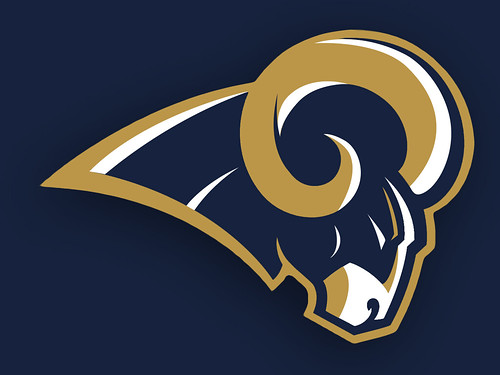 St Louis Rams Logo V 1 My First Attempt At Redesigning