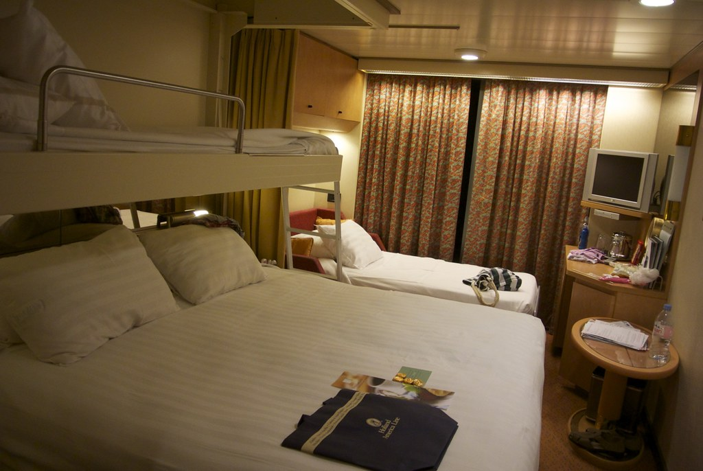 Holland America - ms Noordam | Our room done up for the ...