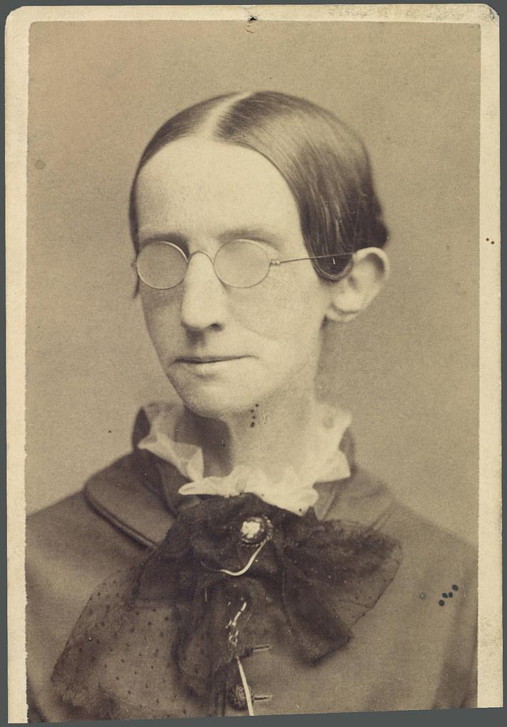 Laura Bridgman | Description: Portrait of Laura Bridgman cro… | Flickr