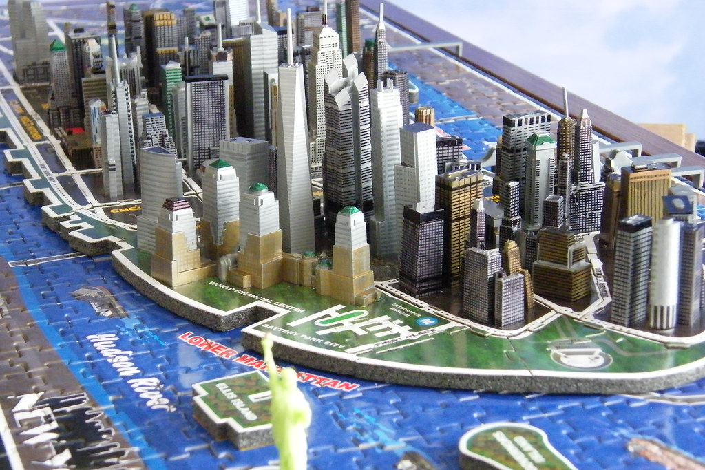 New york city 4d cityscape customized time puzzle aar for Modeling jobs nyc