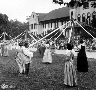 """Windins of the May Poles"" May Day, 1939 