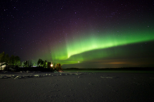 Aurora at the White sea | by Alexander Semenov