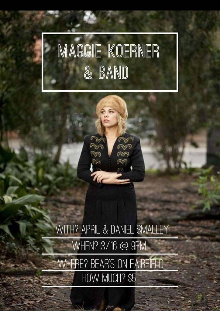 Maggie Koerner Maggie Koerner Amp Band Bears