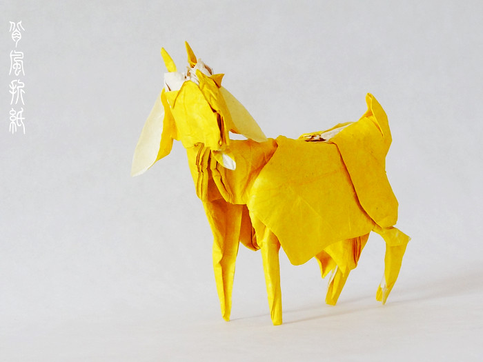 Origami Goat Image Collections Coloring Pages Adult