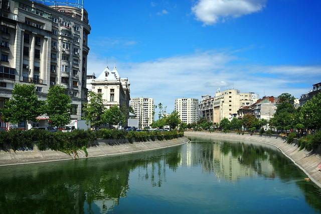 Bucharest - Dâmbovița River
