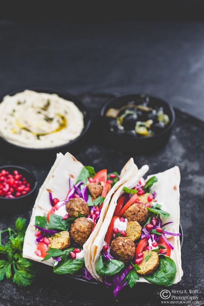 Falafel Hummus Lavash by Meeta K. Wolff-WM-0057