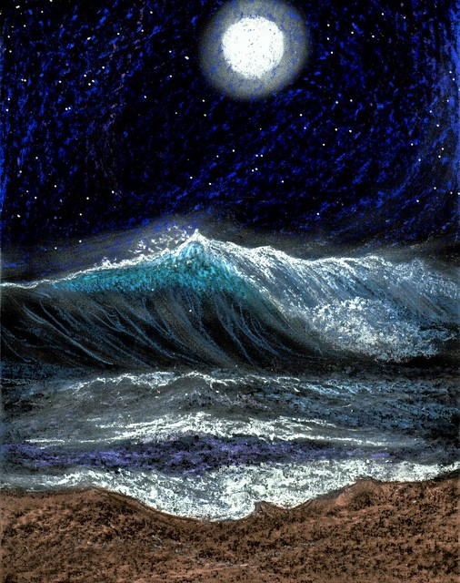 Moonlight Waves