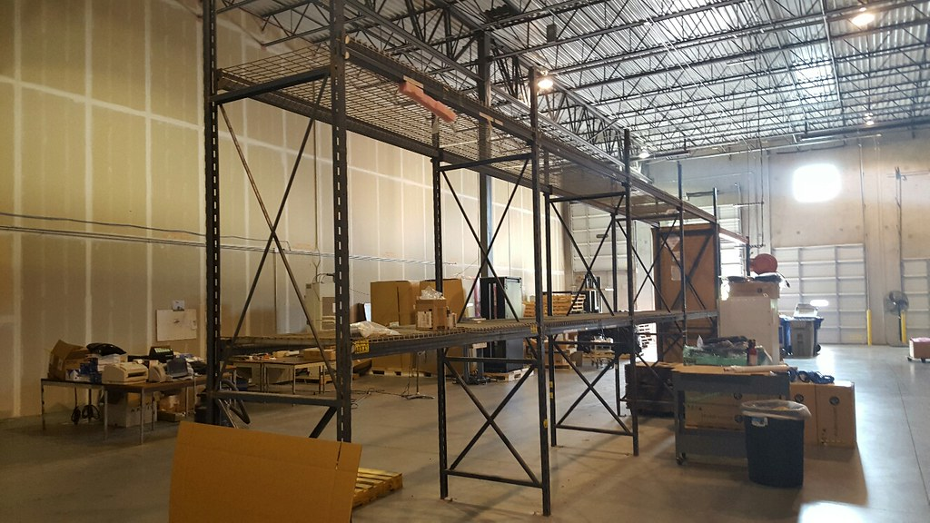 ... Warehouse Racking System Removal U0026 Recycling Atlanta, GA   By  Commercial Junk Removal
