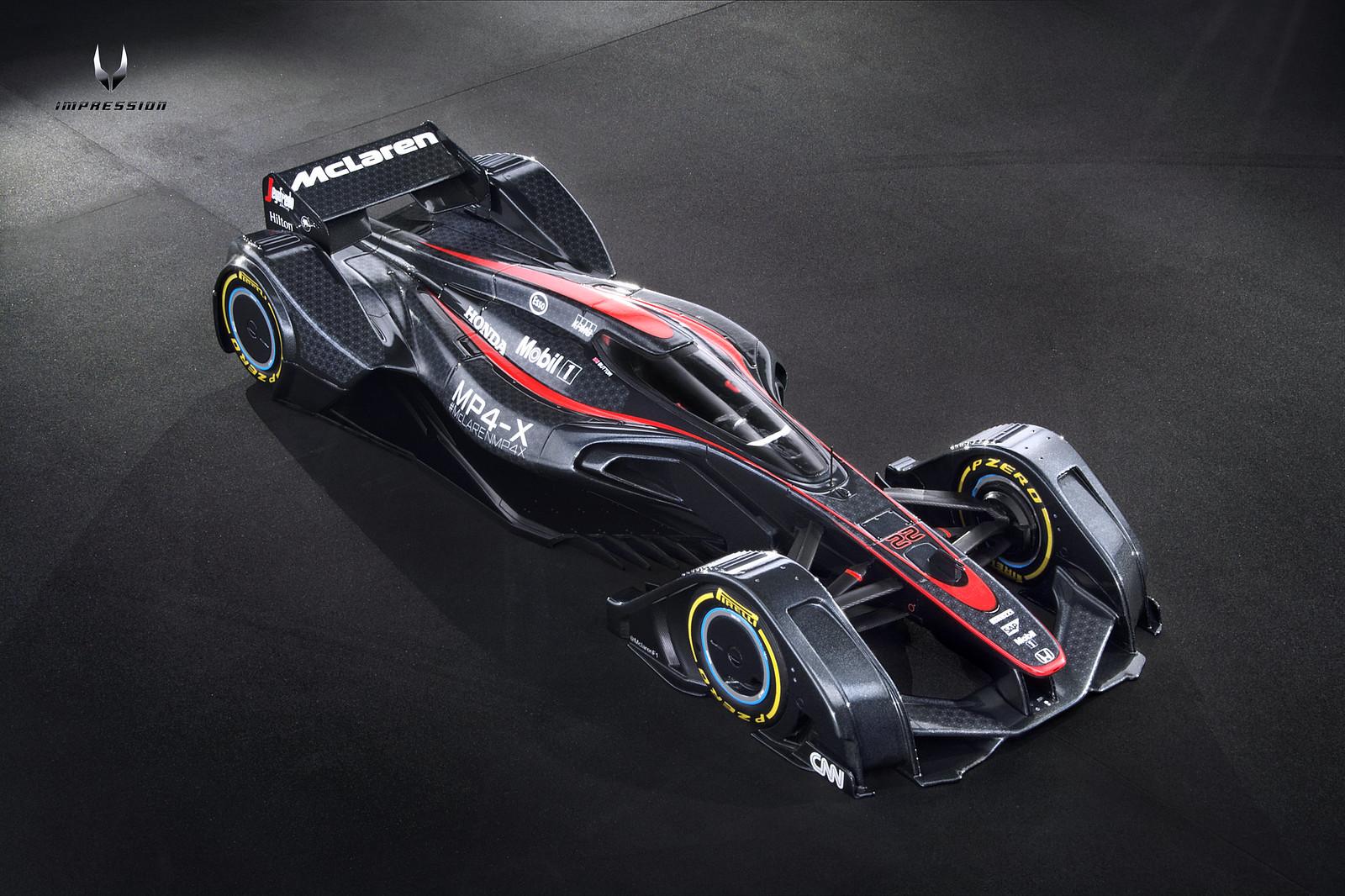 Mclaren X 1 >> Spark 1:18 McLaren MP4-X