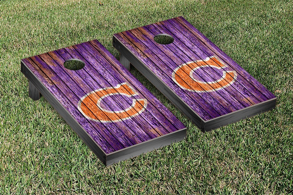 Clemson Tigers College Vault Weathered Version