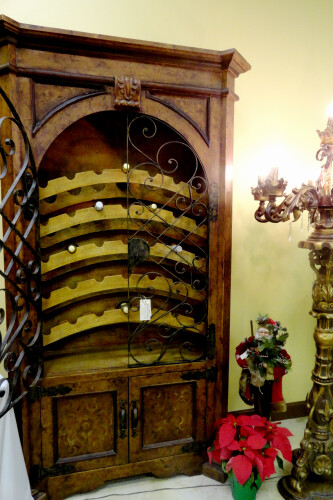 ... ChildressOldWorldFurniture Tuscan Wine Cabinet / Wine Rack / Armoire  Childress Old World Furniture | By ChildressOldWorldFurniture