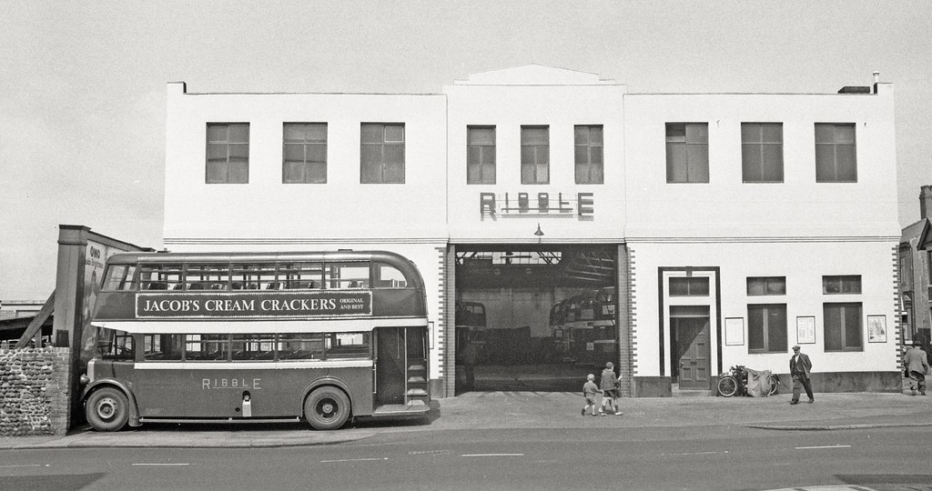 Talbot Road Garage Blackpool A View Of The Ribble Bus