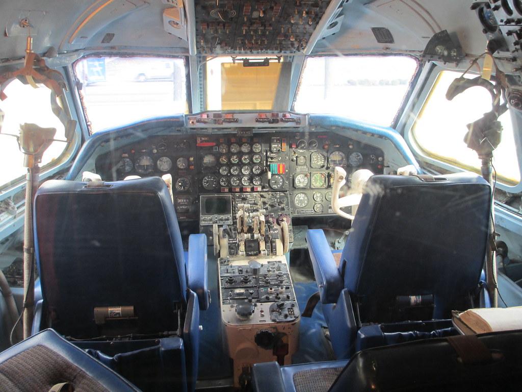 Inside the Lisa Marie airplane at Elvis Presley's Gracelan ...