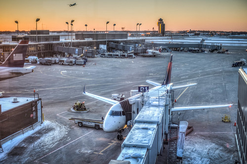 HDR: MSP Airport - view from the observation deck | by m01229
