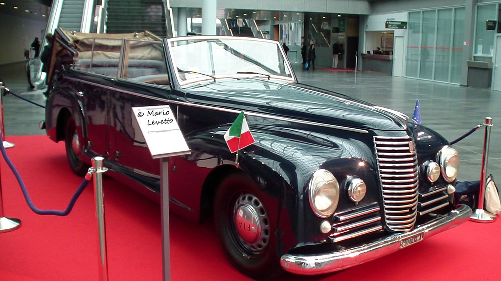 Mussolini Amp Hitler Rode In This Fiat 2800 Limo This Fiat
