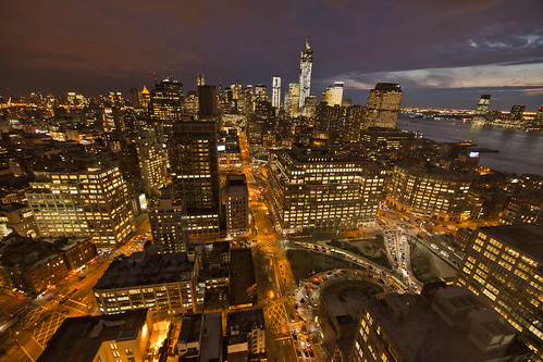 Lower Manhattan and One World Trade at Night | by Anthony Quintano