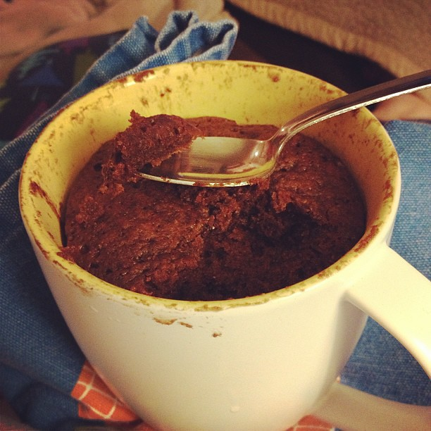 Microwave Chocolate Cake In A Cup Pioneer Woman
