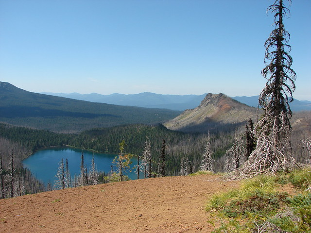 Mowich Lake and Duffy Butte